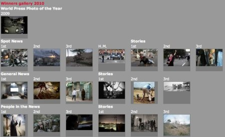 World Press Photo winners gallery for 2009