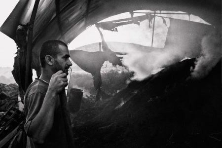 Charcoal makers in Palestine :: a photo gallery by Dan Seltzer