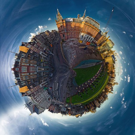 50 examples of polar panorama photography
