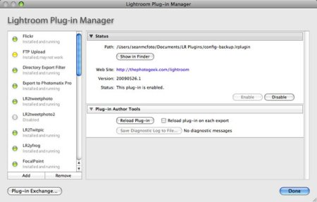An introduction to Lightroom plugins