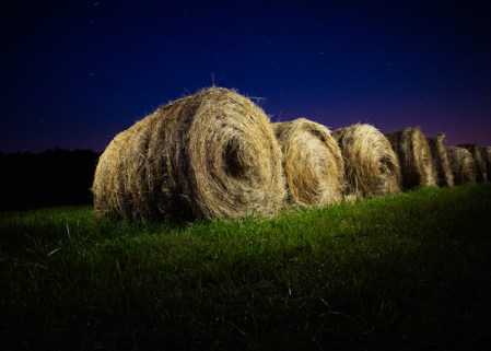 Night – rural light painting photos by Harold Ross