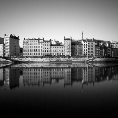 My City: Lyon – monochrome long exposures by Stephane Suisse