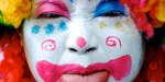 Related item: 'Clown face – Edinburgh Fringe Festival'