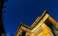 Photo blog photo: 'Look up to art – Royal Scottish Academy, Edinburgh'