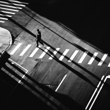 Black and white street photography by Jon DeBoer