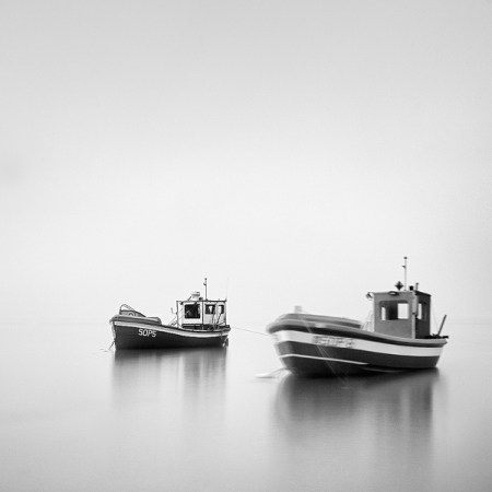 Contemplations III – black and white long exposures by Mac Oller
