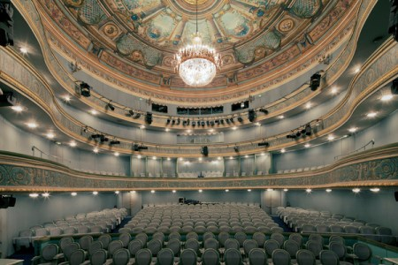 Theater – architectural photography by Franck Bohbot