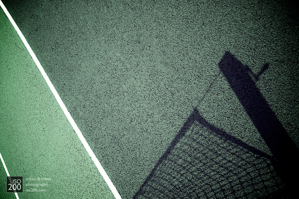Detail of the tennis court at Merton College, Oxford