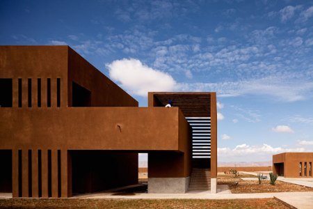 Architectural photography – The Technology School of Guelmim, Morocco