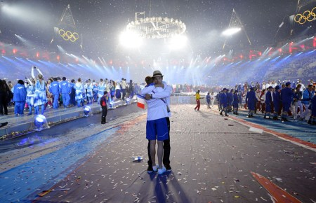 London 2012: photos from the closing ceremony