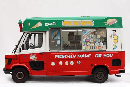 Ice-cream vans – photos by Luke Stephenson