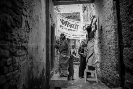 Photos of the polio eradication program in Bihar, India