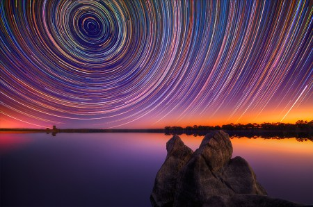 Startrails – long exposure photos by Lincoln Harrison
