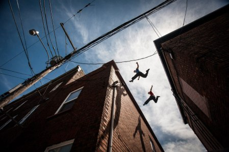 Andy Day: Documenting the high-flying world of parkour