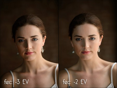 Using flash exposure compensation