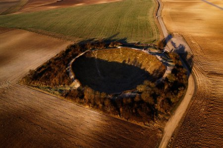 Europe's Landscape Is Still Scarred by World War I – Aerial photos