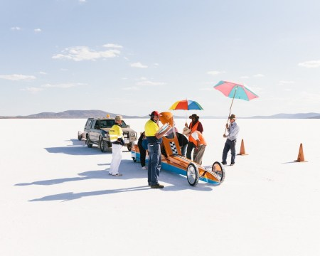 ÉriverHijano photographs the Dry Lakes Racers at Australia's Speed Week.