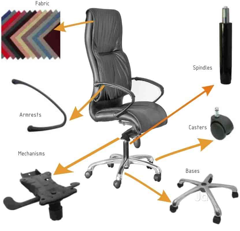 rolling chair accessories in chennai overstuffed and ottoman top 100 office repair services best zeta retrieve