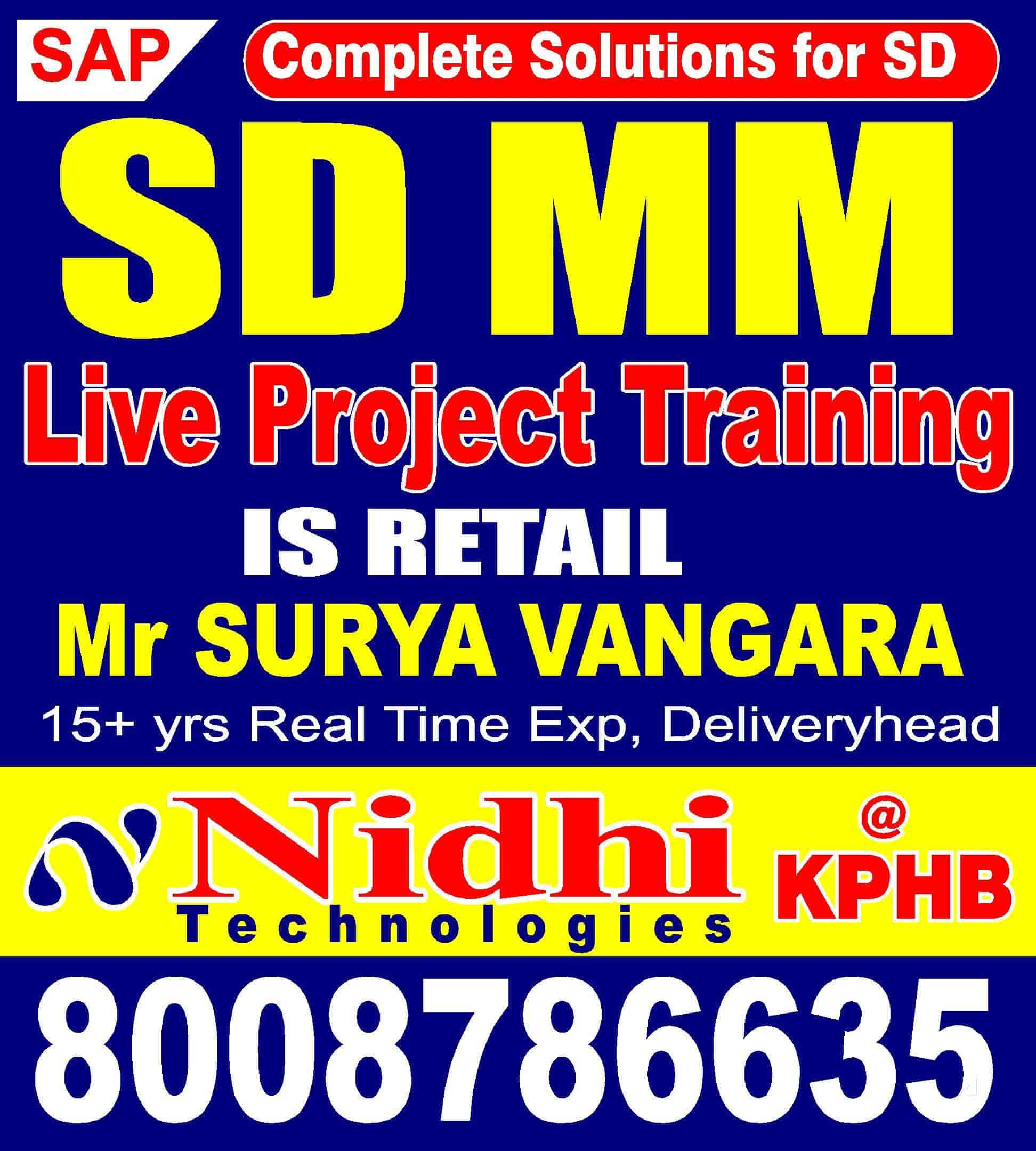 hight resolution of nidhi technologies kphb colony computer training institutes for sap sd in hyderabad justdial