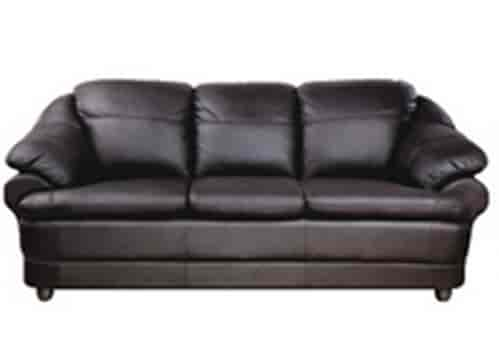 black leather sofa set price in india flip open cars buy godrej interio jinerio 3 seater synthetic features reviews online justdial