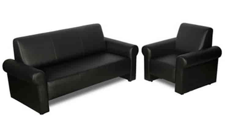 black leather sofa set price in india cool sofas buy godrej interio supreme synthetic features reviews online justdial