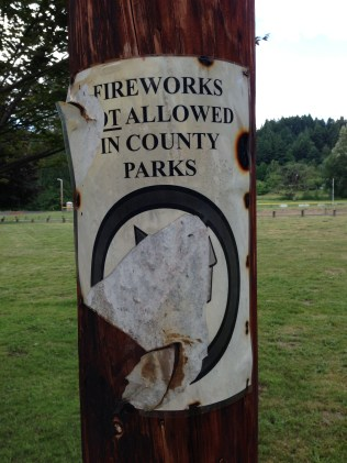 "Fireworks ""Might?"" be allowed in county parks"