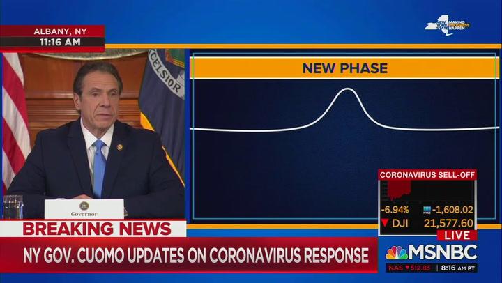 Cuomo: New York hospitals will be overwhelmed by coronavirus ...