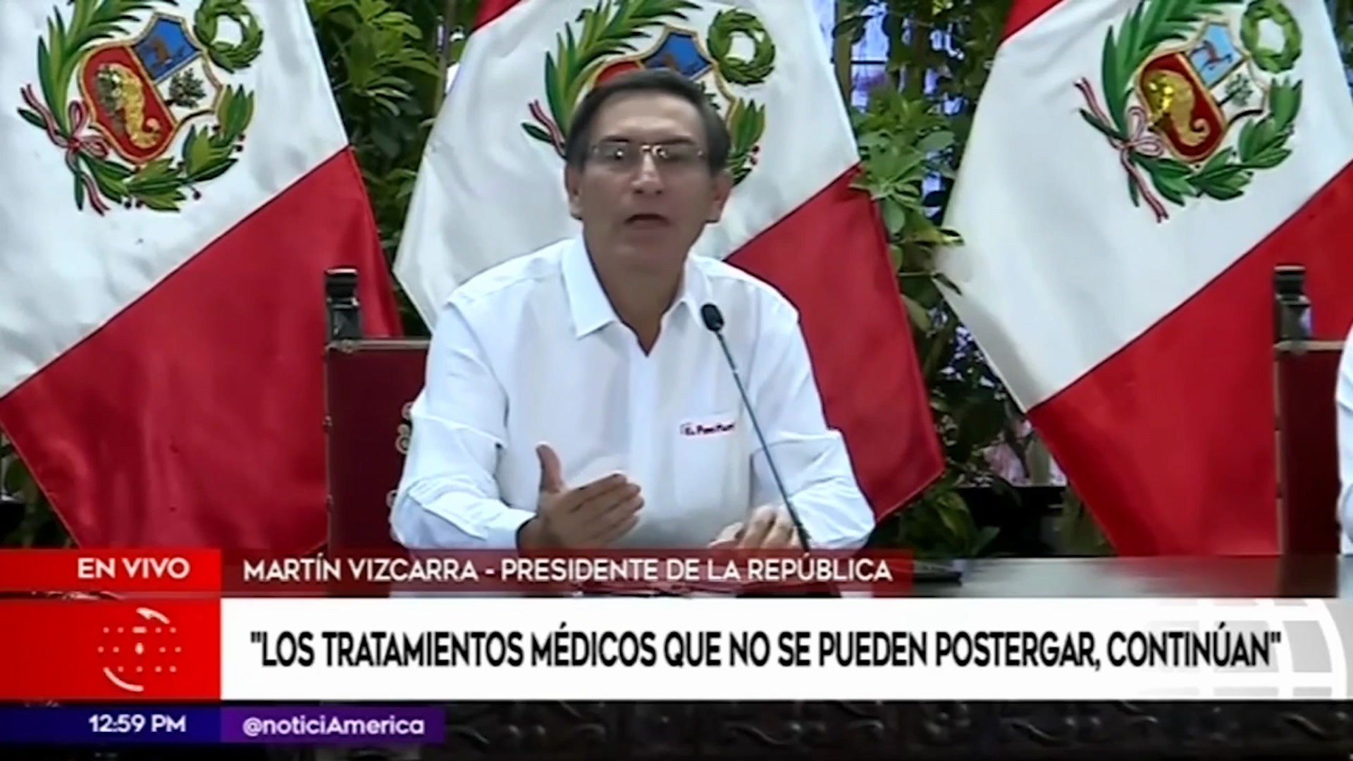 Martin Vizcarra mensaje Coronavirus en Peru fase 3 a que hora es ...