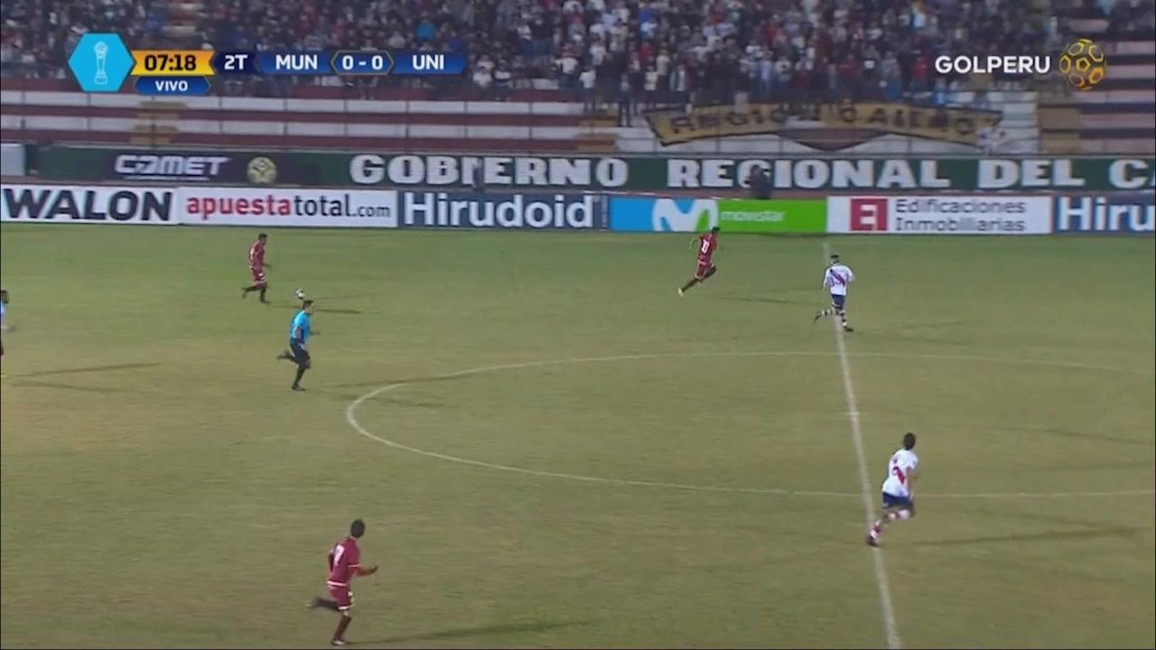 Universitario Vs Municipal: Diego Manicero Metió Un Golazo En El Callao Por  El Torneo Apertura 2018 [Video]   Libero.pe