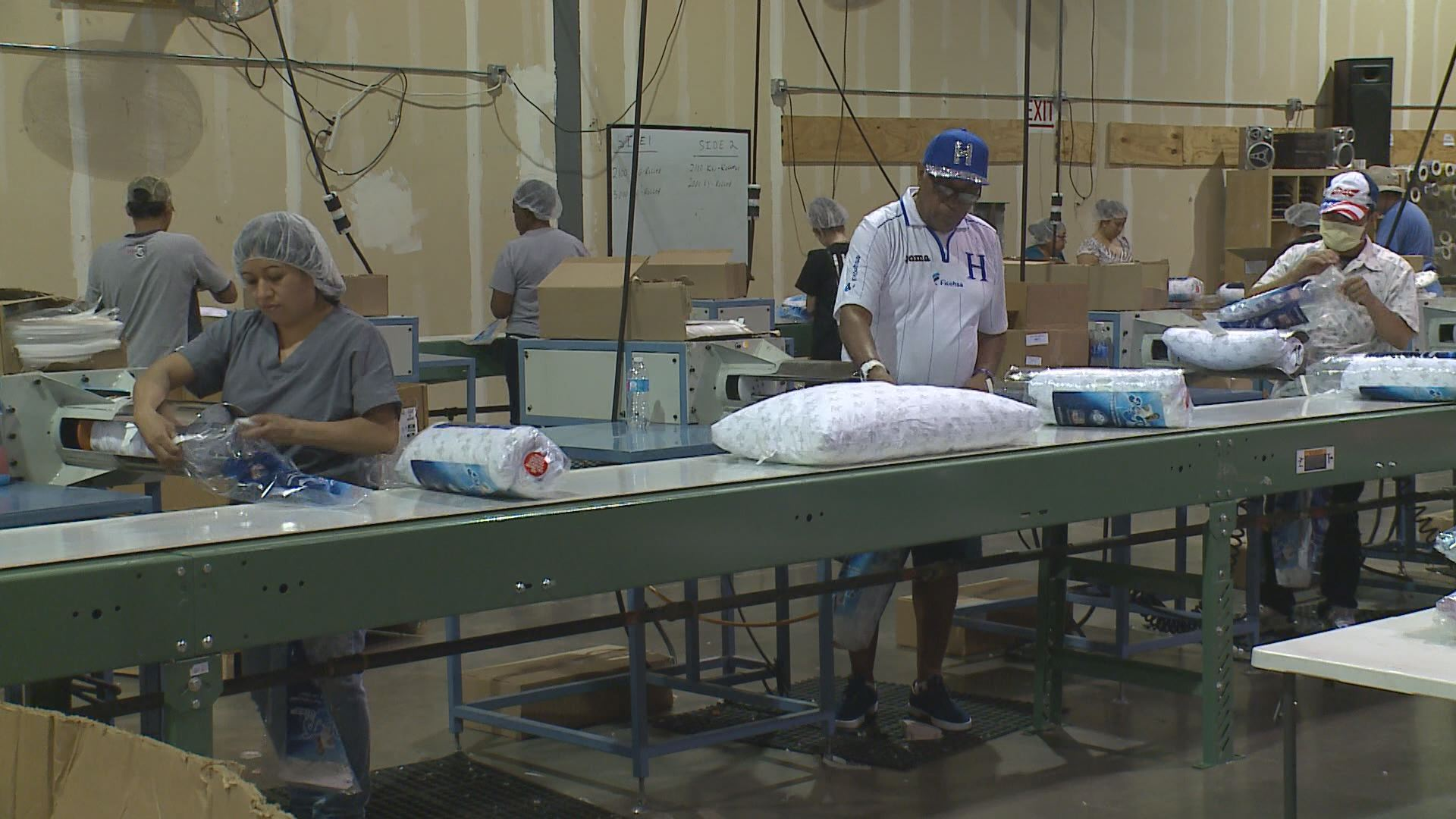 My-pillow-factory Kare11 Mn Based Mypillow Adds New Factory Jobs