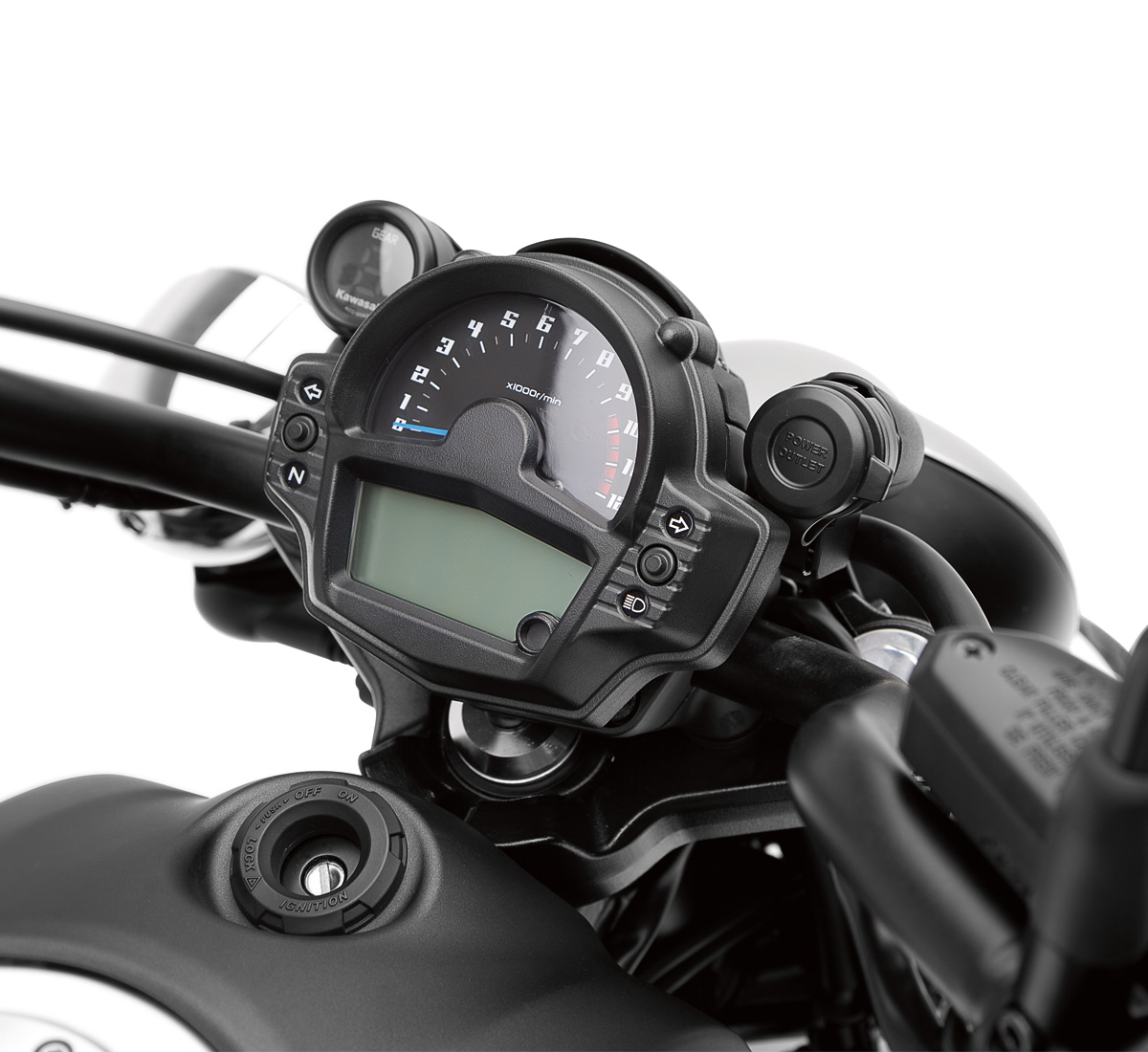 Kawasaki Vulcan Gear Indicator S