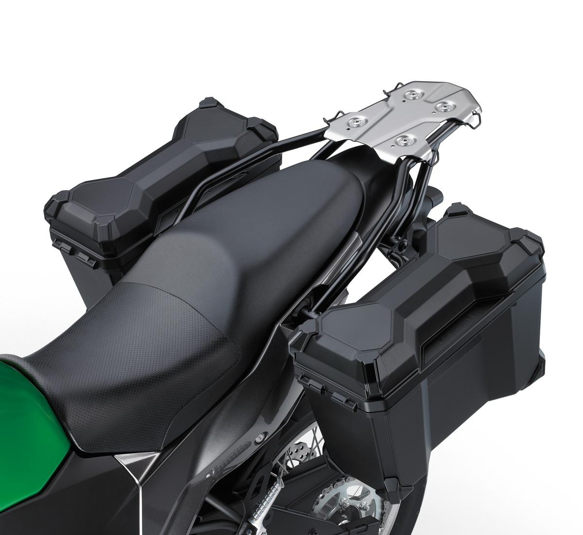 hight resolution of 17 liter hard saddlebag set