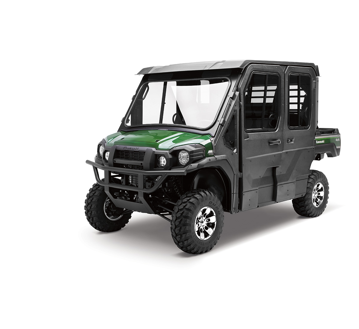 hight resolution of hard cab enclosure roof and frame