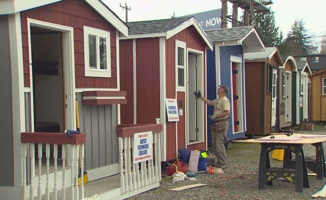 King5 North Seattle Homeless Tiny House Village To