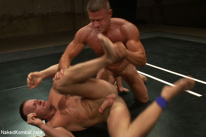 Muscle on Muscle - Tyler Saint takes on Ethan Hudson - gay