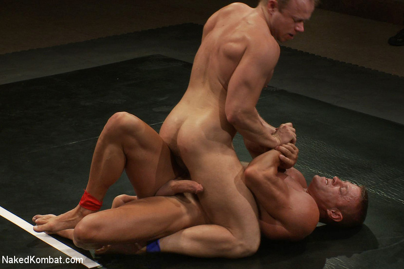 Muscle on Muscle - Tyler Saint takes on Ethan Hudson - domination