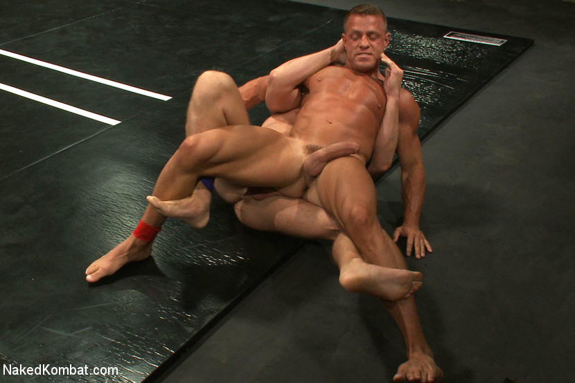 Muscle on Muscle - Tyler Saint takes on Ethan Hudson - submission