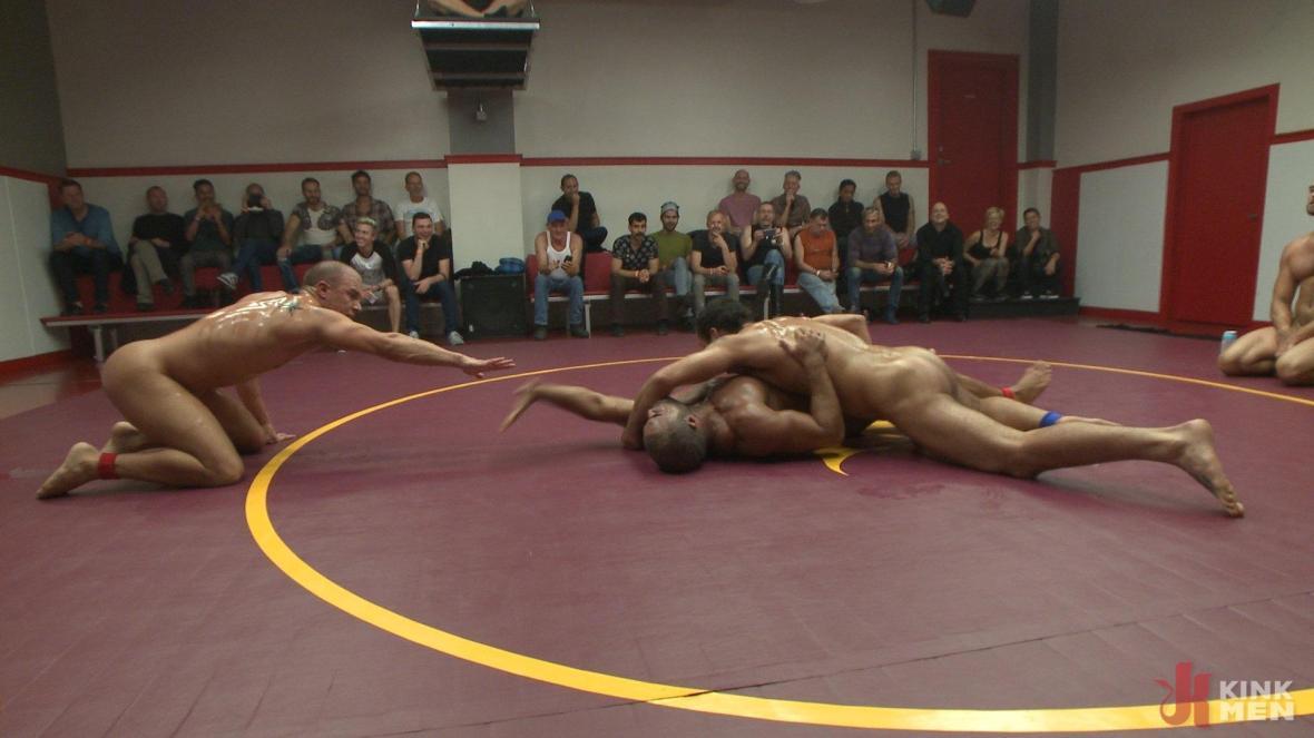 Live Tag Team Matchup: Jessie Colter & DJ vs Eli Hunter & Micah Brandt - KinkMen