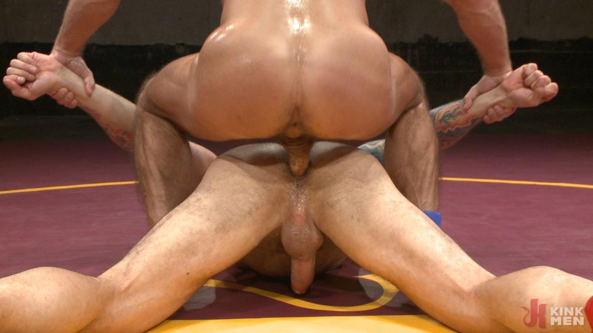 Muscle Matchup - Dirk Caber vs Hugh Hunter - rimming