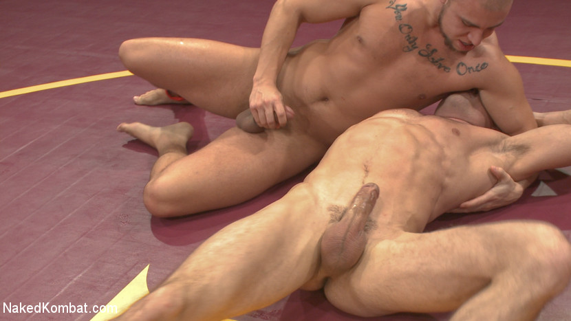 Lance Hart Tussles with Eli Hunter - rimming