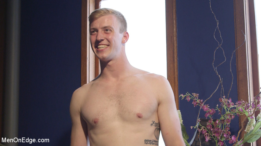 Straight stud touched by a guy for the very first time - tickling