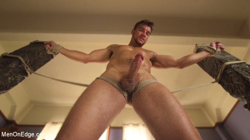 Edging Straight Boy Until He Busts a Nut Hands-Free - Male Handler