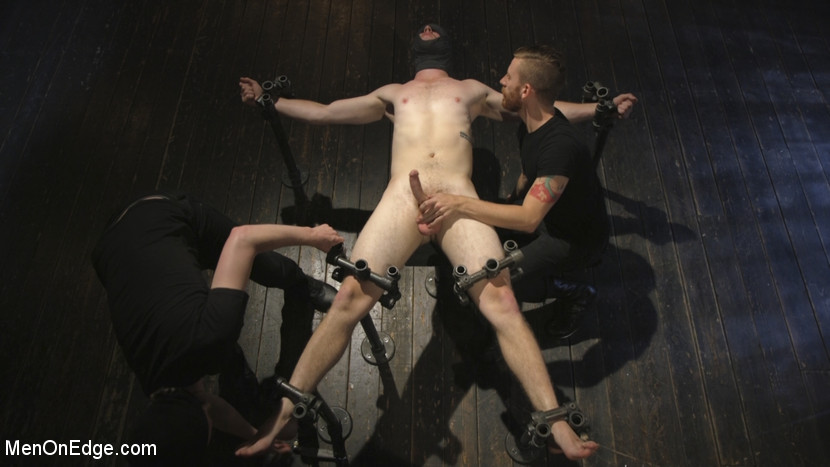 Edging the Captive Straight Boy - oral sex