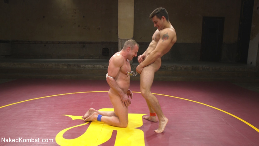 Pound for Pound - Two Muscled Hunks Battle for Sexual Domination - Jock