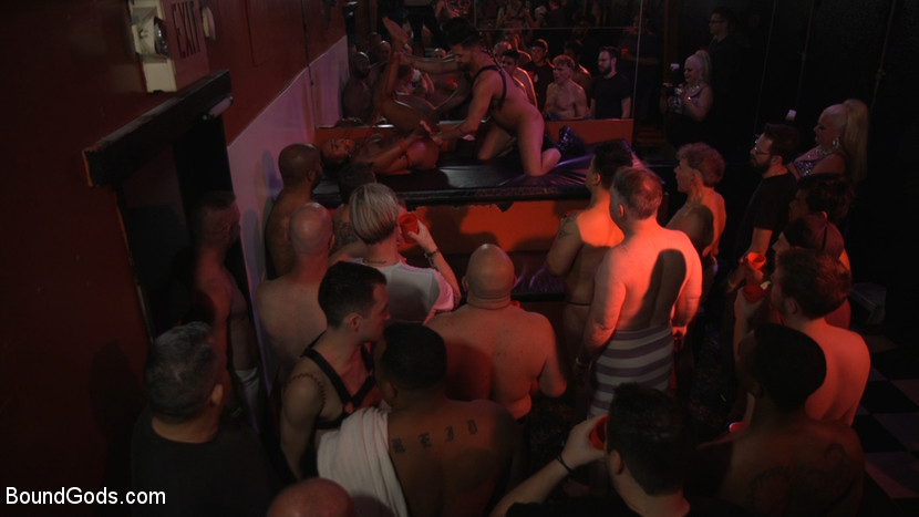 New meat Alson Caramel fisted and fucked for HustlaBall! - crop
