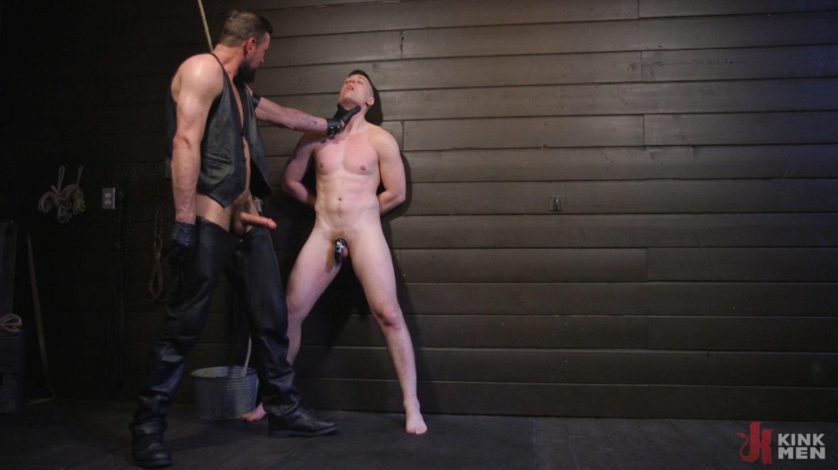 Tyler Rush Cowers Before Max Ferro - leather