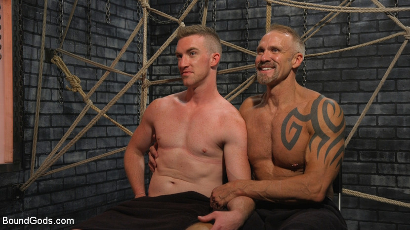 New To KinkMen Nick Fitt Gets Dominated and Fucked by Dallas Steele - humiliation