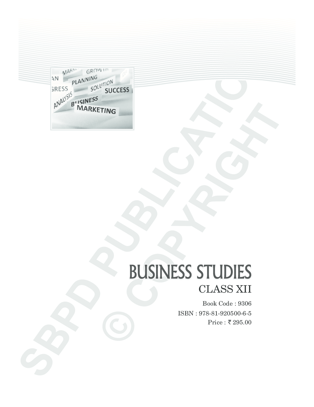 Download Business Studies Text Book Class XIIth by Dr.S.K