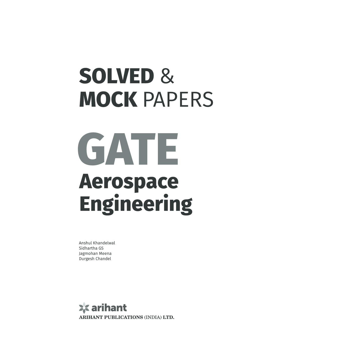 Download Solved & Mock Papers for GATE Aerospace