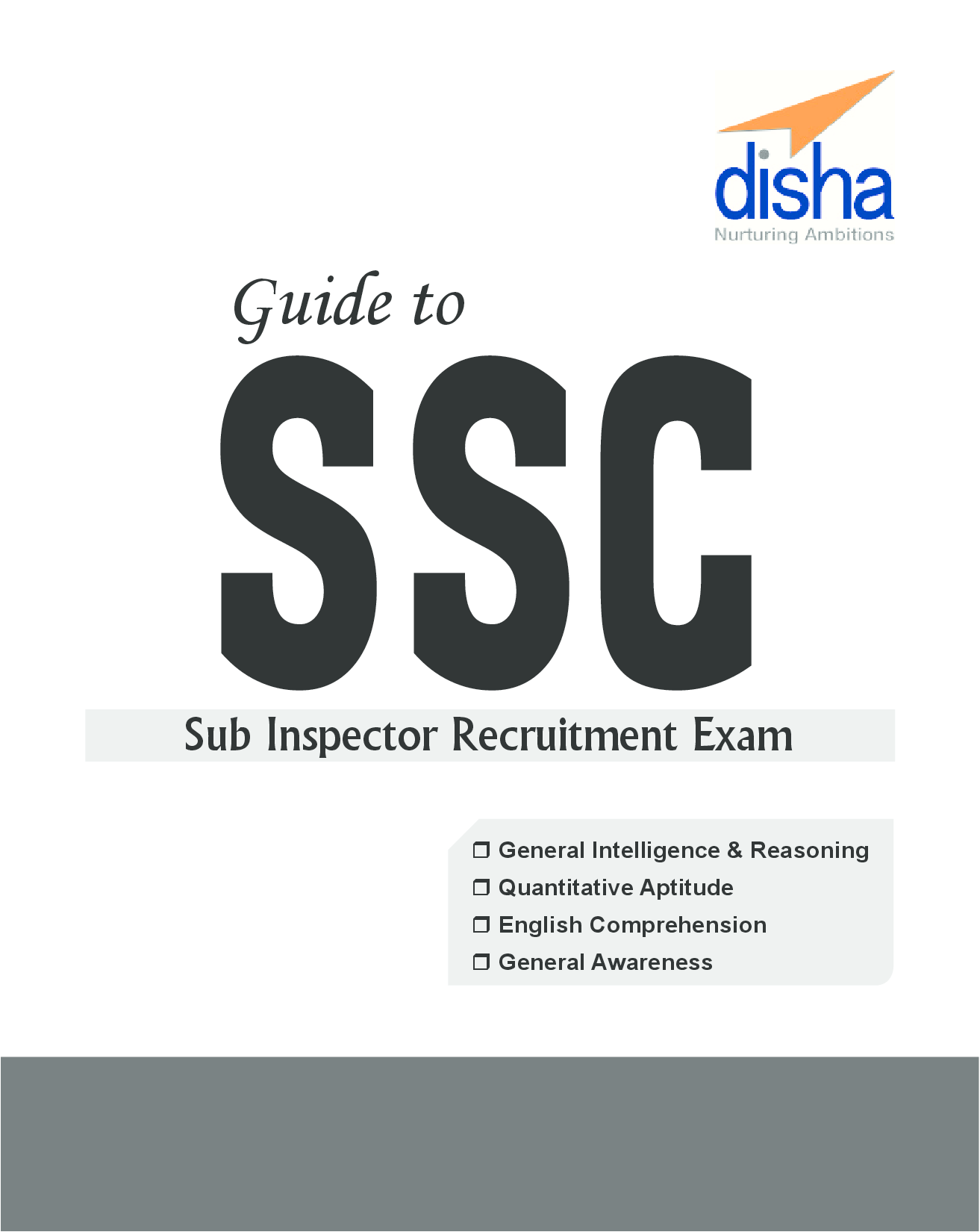 Download Guide To SSC Sub-Inspector Recruitment Exam With